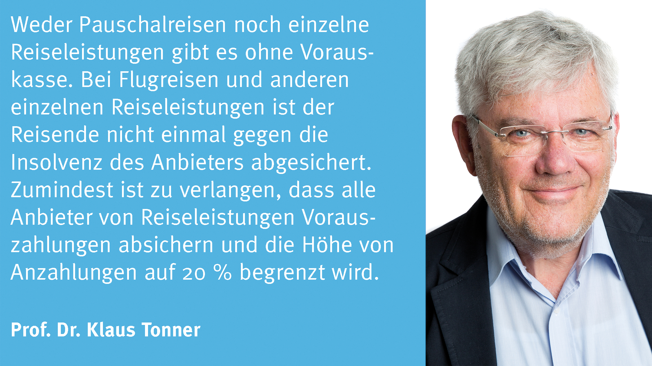 Statement Klaus Tonner